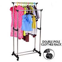 Стойка для одежды напольная, металлическая, Fanxingyu FXY-8168 Drying Rack, вешалка стойка