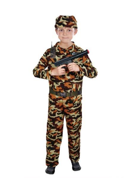 Детский карнавальный костюм Военного для мальчика