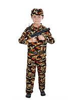 Детский карнавальный костюм Военного для мальчика, фото 1