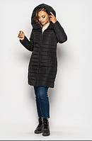 Женская зимняя куртка MODA Куртки женские зимние удлиненные Черный
