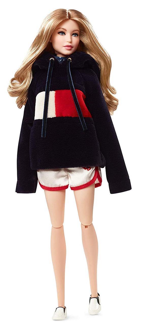 ДжиДжи Хадид Томми Хилфигер кукла коллекционная Gigi Hadid Tommy Hilfiger Barbie TommyXGigi Doll