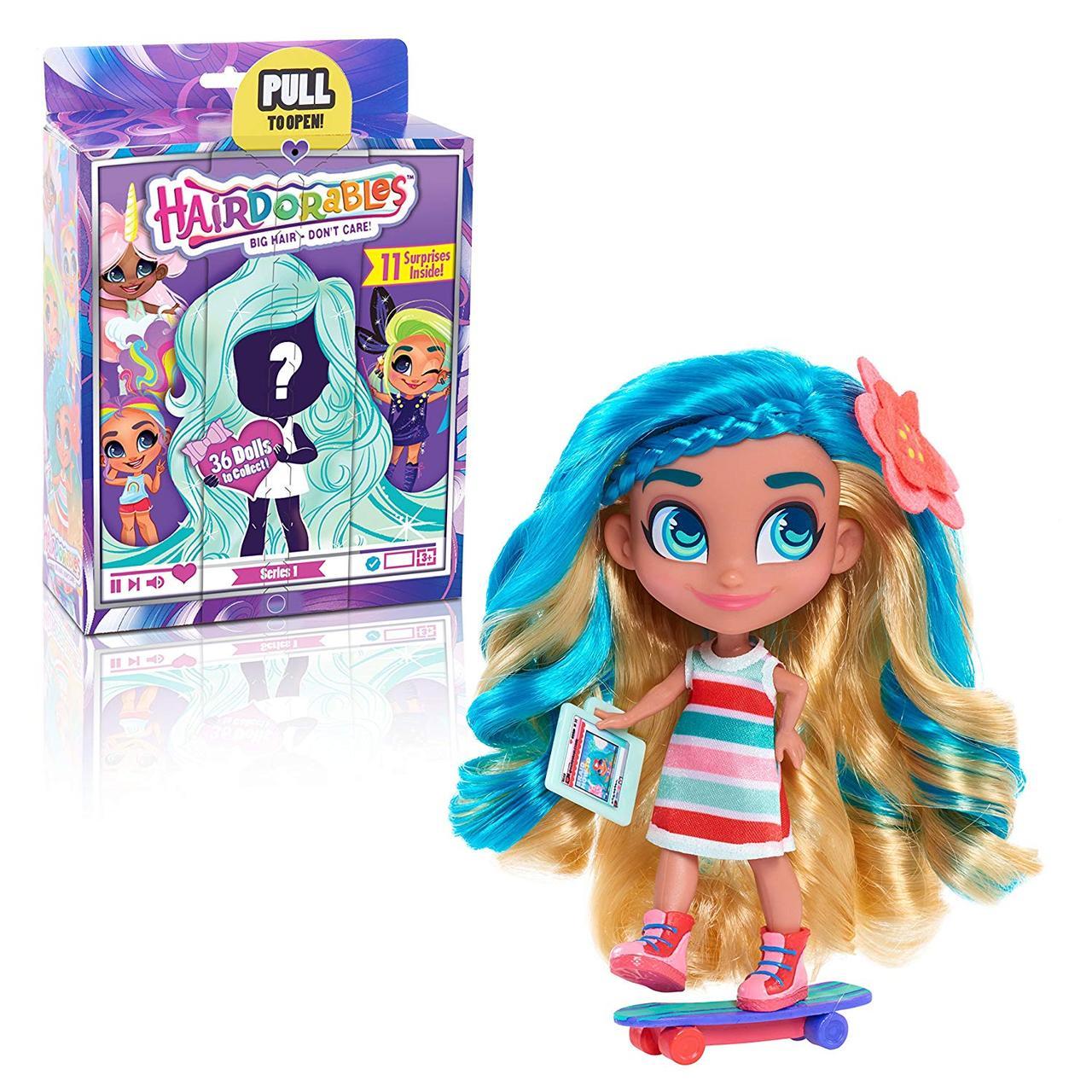 Лялька Hairdorables Collectible Surprise Dolls 1 серія лялька Хердорабалс/Хэрдораблс сюрприз оригінал