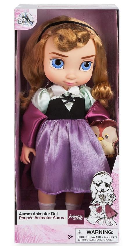 Лялька Аврора аніматор Дісней Disney Animators Collection Aurora спляча красуня оригінал