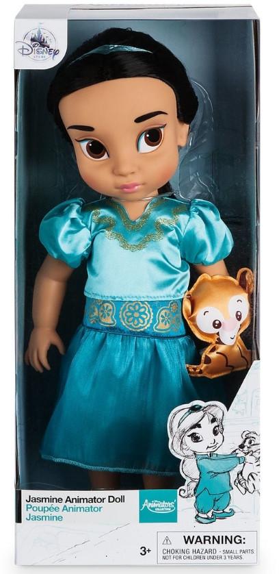 Лялька Жасмин аниматорс Дісней Disney Animators Collection Jasmine Doll з Аладіна велика лялька 40 см