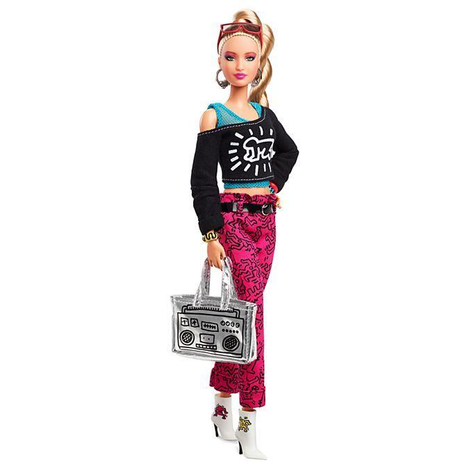 Лялька Барбі Кейт Херінг Keith Haring X Barbie Doll колекційна Кіт Харінг Mattel Мател лялька барбі