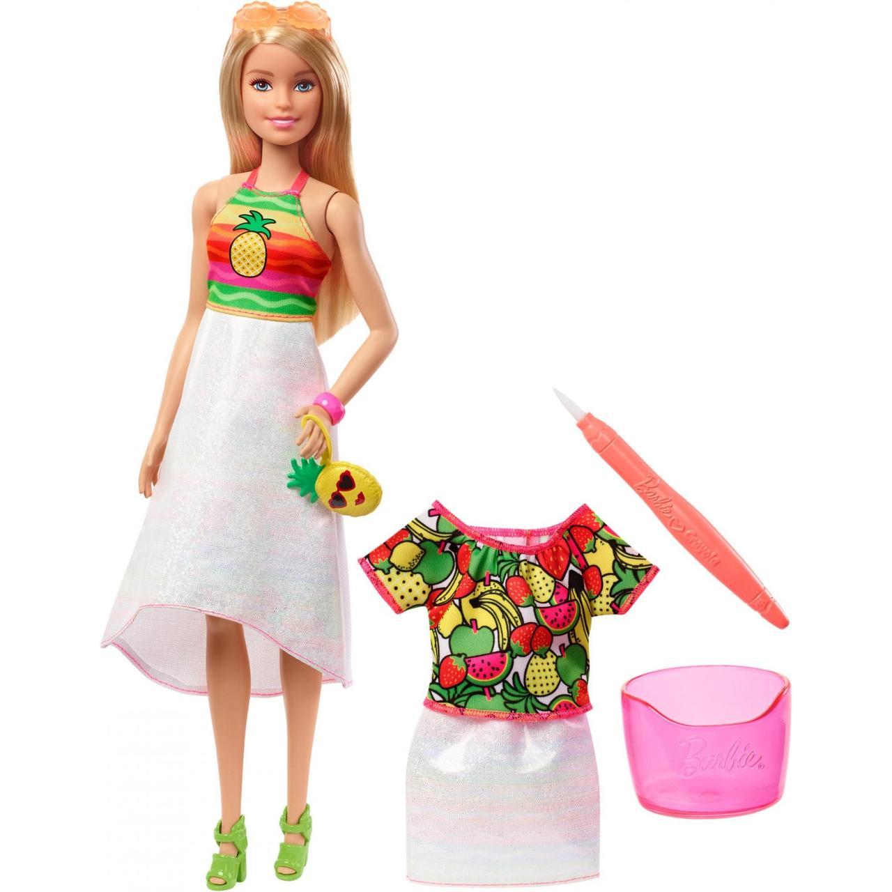 Лялька Барбі Крайола Фруктовий сюрприз Barbie Crayola Rainbow Fruit Surprise, блондинка