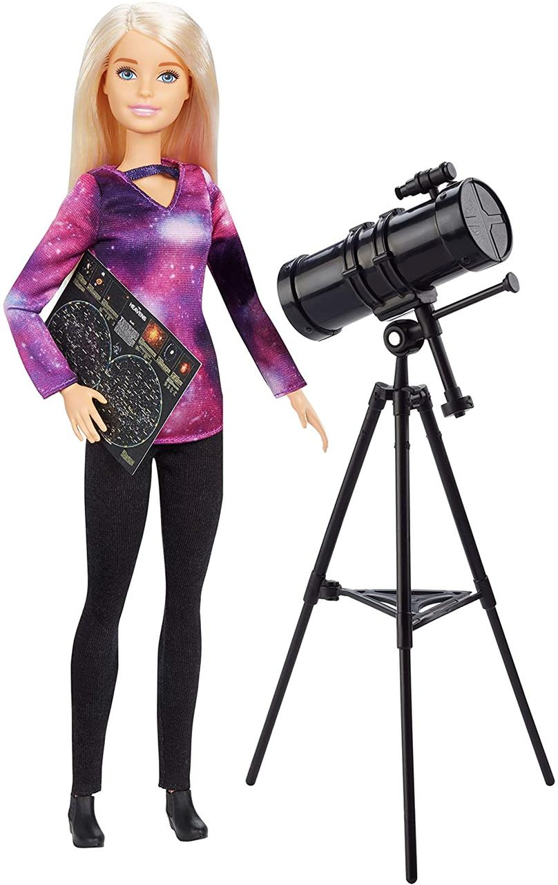 Кукла Барби Астрофизик Barbie Astrophysicist National Geographic Doll с телескопом астролог оригинал