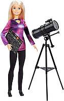 Кукла Барби Астрофизик Barbie Astrophysicist National Geographic Doll с телескопом астролог оригинал, фото 1