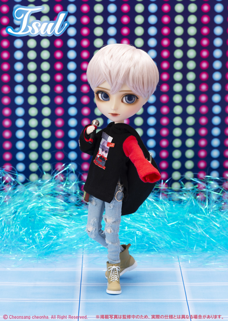Кукла Ян Юн Исул рок звезда Yun Isul Pullip 2019 мальчик парень Пуллип коллекционный оригинал