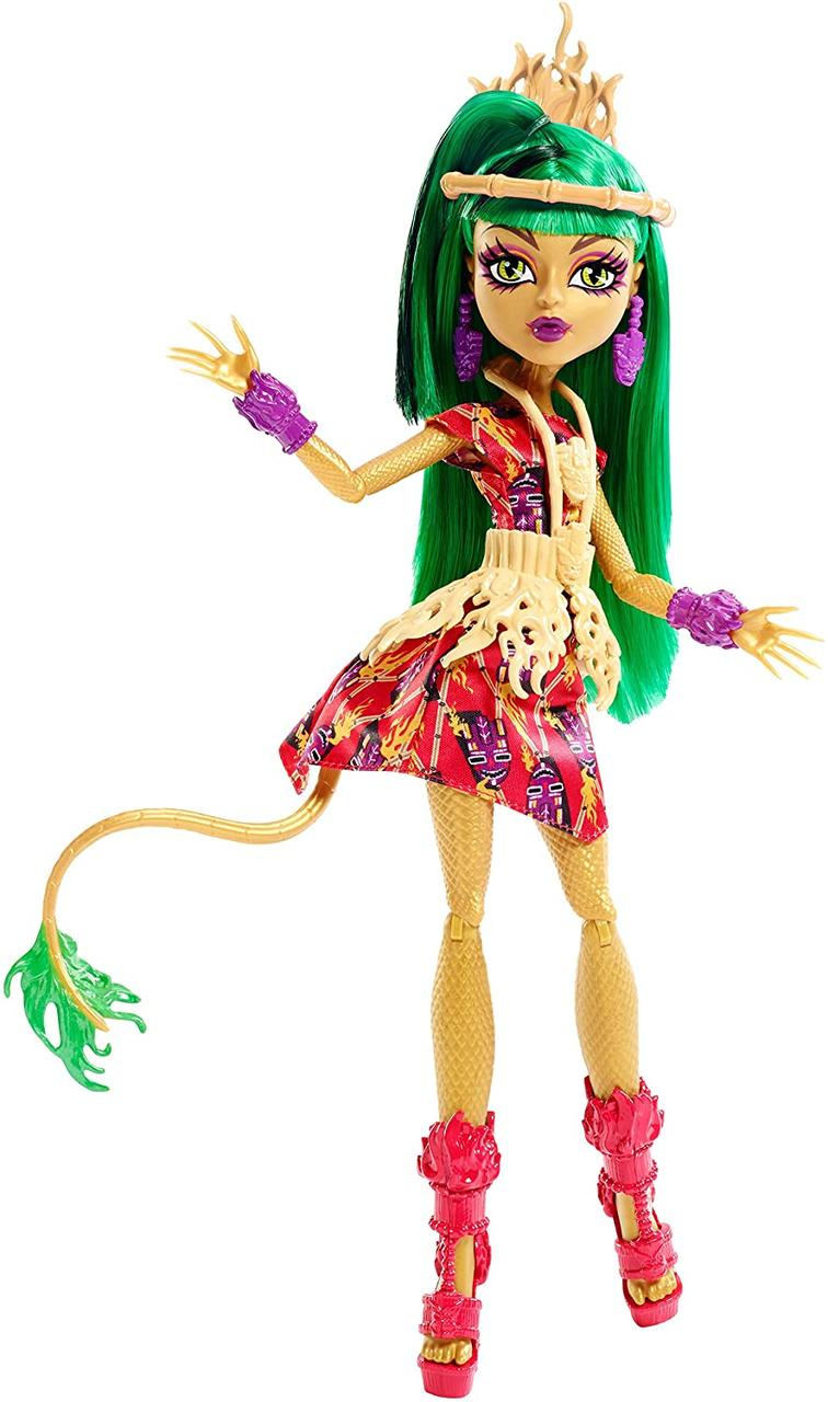 Кукла Монстер Хай Джинафаер Лонг монстры на каникулах отдыхе Ghouls Getaway Jinafire Long в отпуске оригинал