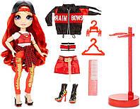 Красная кукла Рейнбоу Хай Руби Андерсон Rainbow High Ruby Anderson – Red оригинал LOL OMG MGA, фото 1