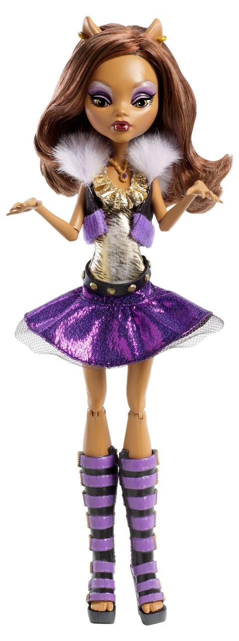 Уценка Кукла монстер хай Клодин Вульф Она Живая Monster High It´s Alive Clawdeen Wolf
