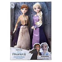 Куклы Дисней Анна и Эльза эксклюзивный набор 2019 года Фрозен Anna and Elsa Doll Set Frozen 2