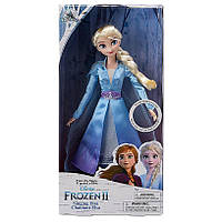 Поющая кукла Дисней Эльза Холодное сердце 2 Elsa Singing doll Disney Frozen музыкальная Крижане серце