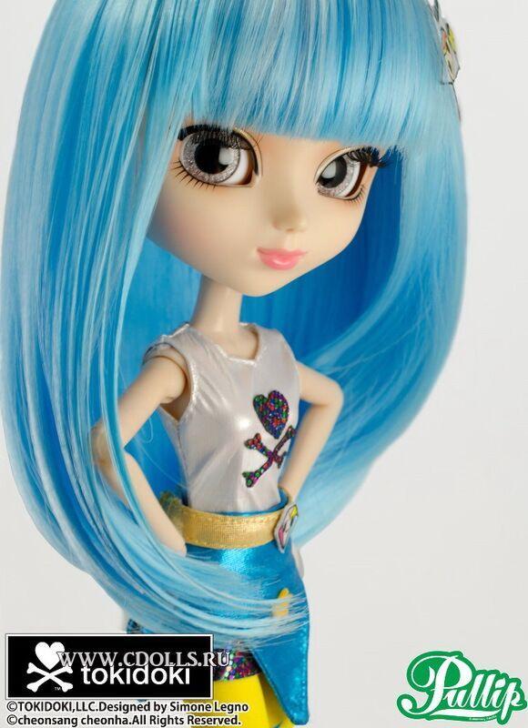 Кукла Пуллип Супер Стелла Токидоки Super Stella SDCC tokidoki 2014 Pullip эксклюзивная Комик Кон