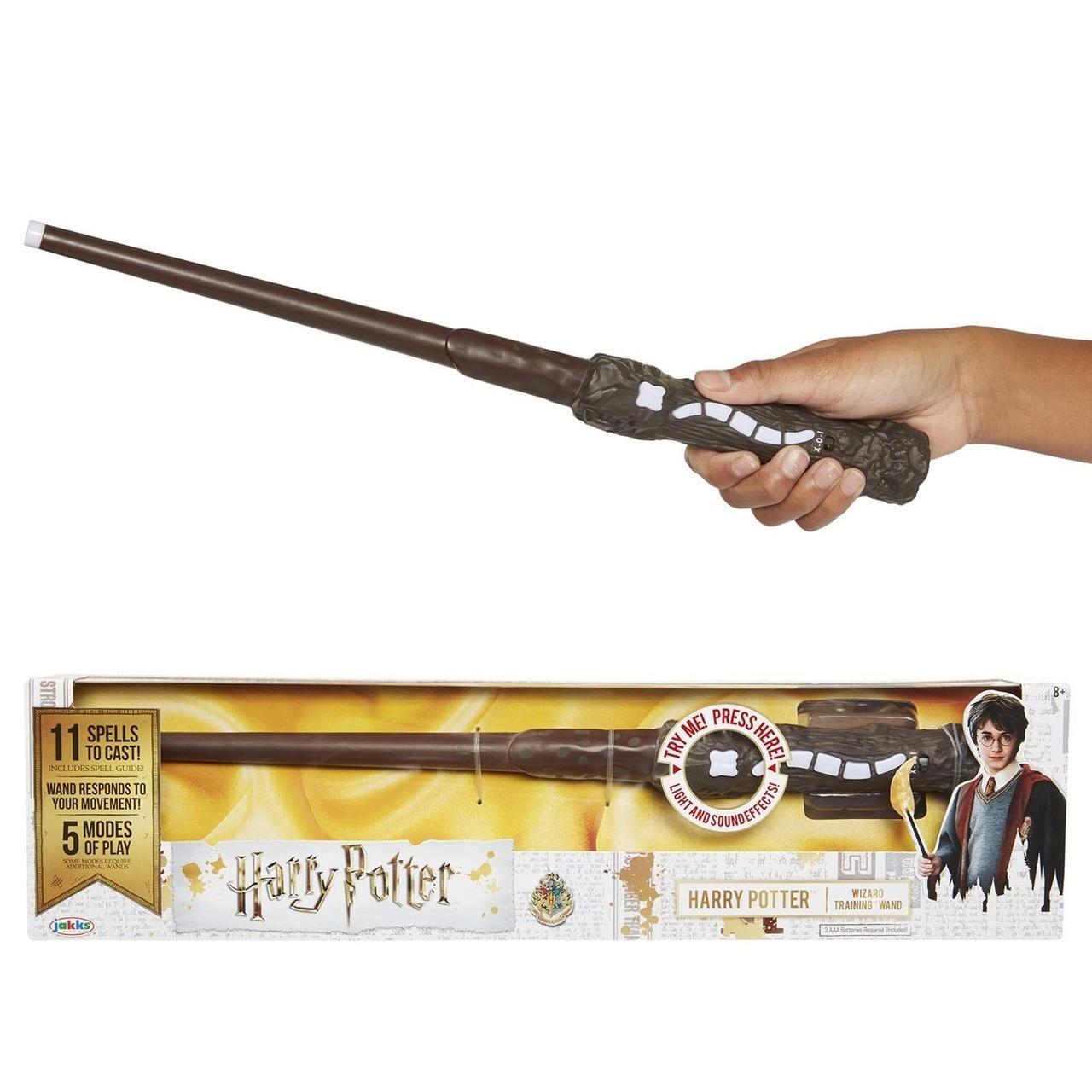 """Уцінка Чарівна паличка Гаррі Поттера """" Harry Potter Wizard Training Wand (звук, світло) - 11 заклинань"""