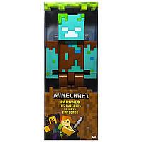 Большая фигурка Утопленник Майнкрафт Minecraft Large Drowned Figure 29 см оригинал Mattel, фото 1