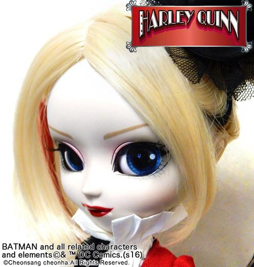 Кукла Пуллип Харли Квин 2016 Pullip Harley Quinn SDCC коллекционная супергерои Комик Кон