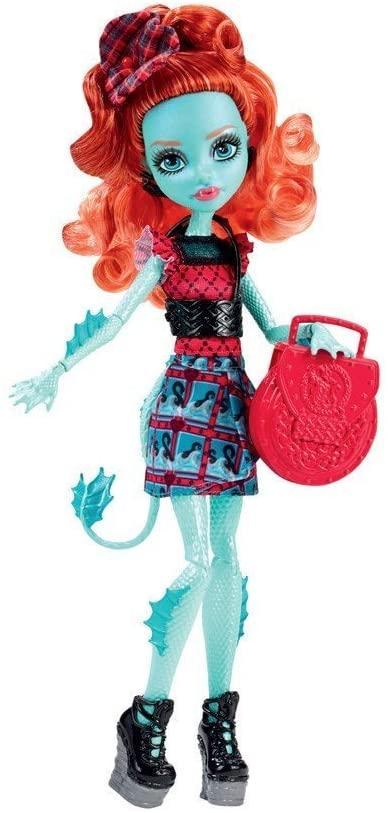 Кукла монстер хай Лорна МакНесси обмен Монстрами Lorna McNessie Exchange Program Monster High оригинал