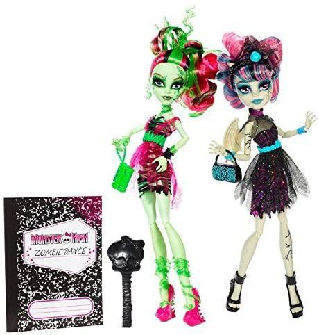 Набор монстер хай Зомби шейк рошель и венера кукла Zombie Shake Rochelle Goyle and Venus Monster high оригинал