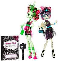 Набор монстер хай Зомби шейк рошель и венера кукла Zombie Shake Rochelle Goyle and Venus Monster high оригинал, фото 1