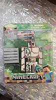Аналог Голем з блоком і маком фігурка Майнкрафт Minecraft Iron Golem Action, фото 1