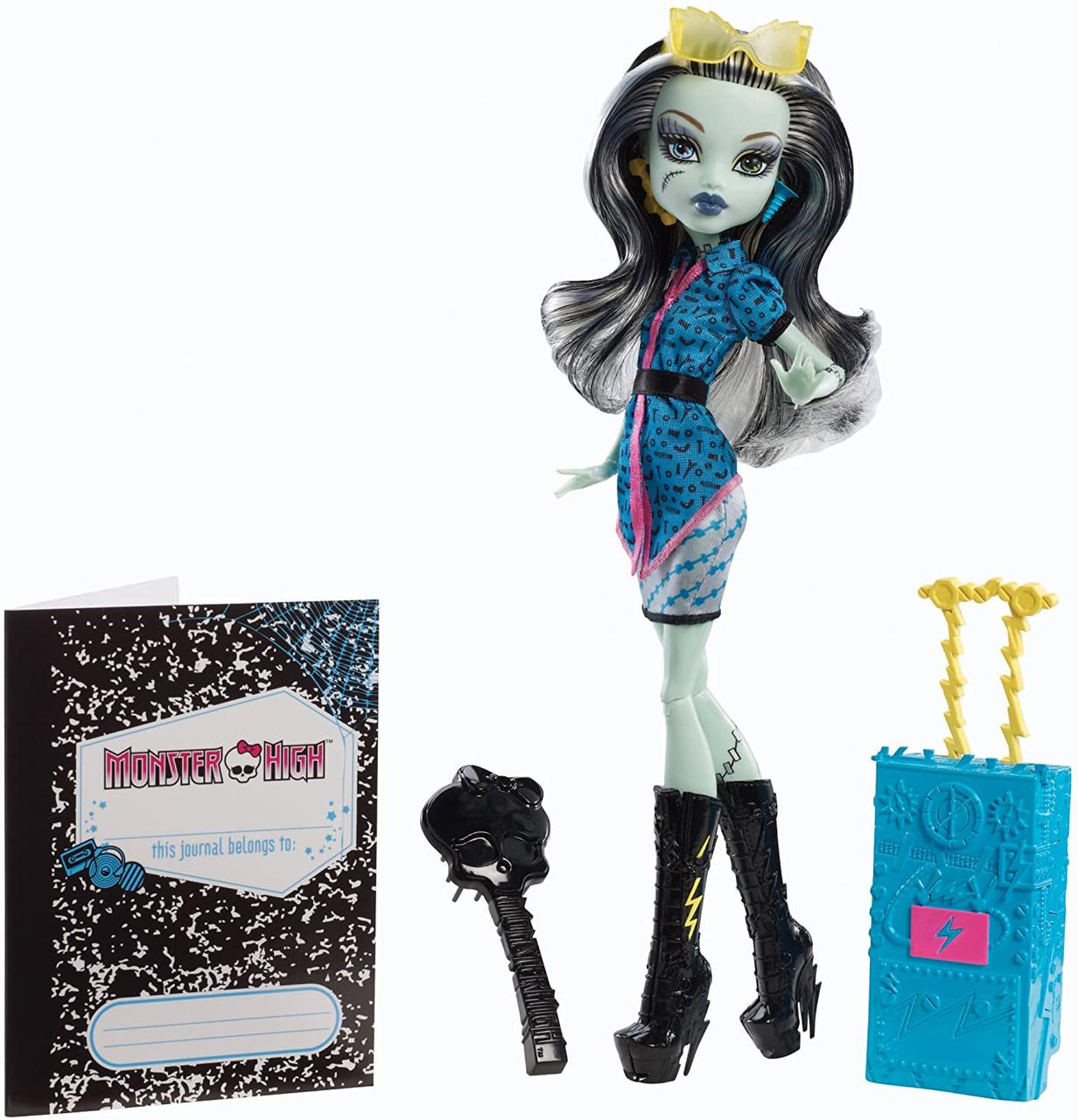 Кукла Френки Штейн путешествие в Скариж Город Страхов монстер хай Monster High Travel Scaris Frankie Stein