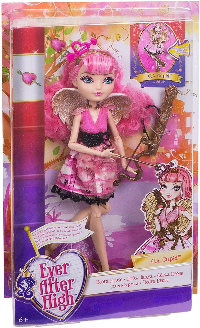 Базовая кукла Купидон эвер афтер хай Ever After High C. A. Cupid перевыпуск эфер афтер хай оригинал