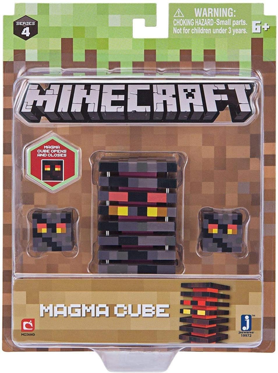 Фигурка Куб магмы Майнкрафт Minecraft Magma Cube Action Figure магма лава оригинал Jazwares