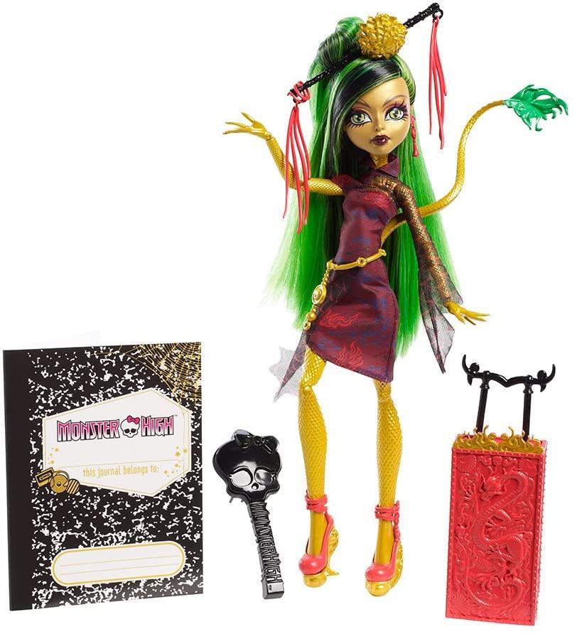 Лялька Джинафаер Лонг подорож в Скариж Місто Страхів монстер хай Monster High Travel Scaris Jinafire Long