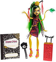 Лялька Джинафаер Лонг подорож в Скариж Місто Страхів монстер хай Monster High Travel Scaris Jinafire Long, фото 1