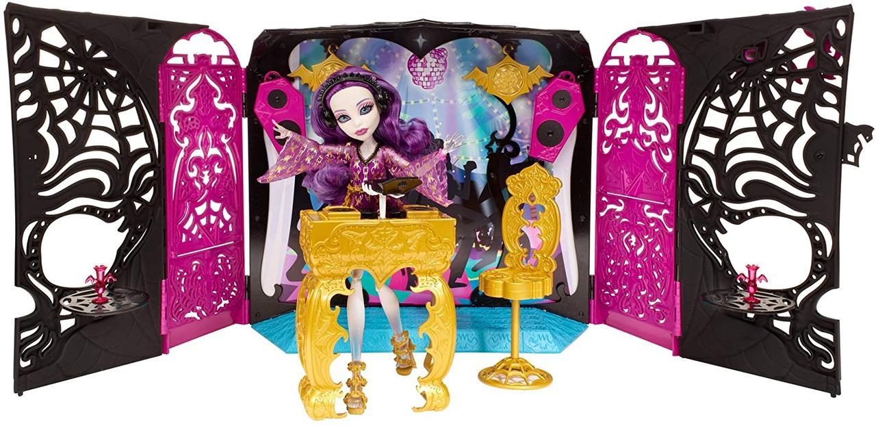 Кукла Спектра 13 желаний музыкальная установка Монстер Monster High Wishes Party Lounge & Spectra Vondergeist