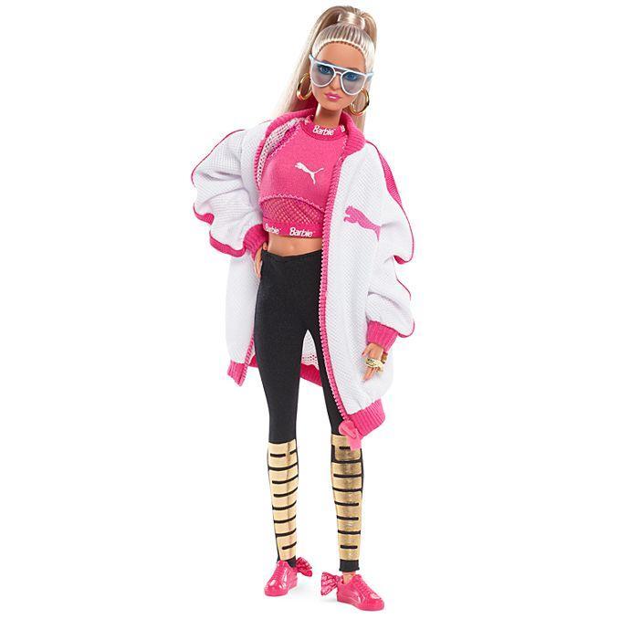 Лялька Пума Барбі Barbie Puma Doll Blonde колекційна блондинка Mattel сша