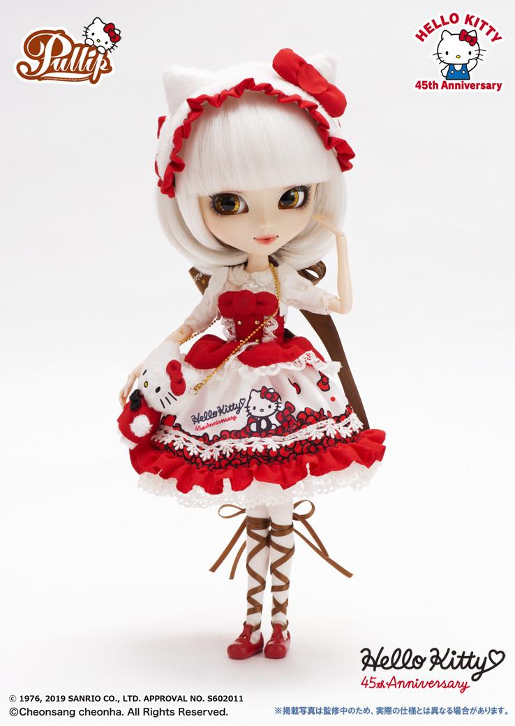 Кукла Пуллип Хеллоу Китти 2019 Pullip Hello Kitty 45th Anniversary коллекционная лялька пулип пюлип