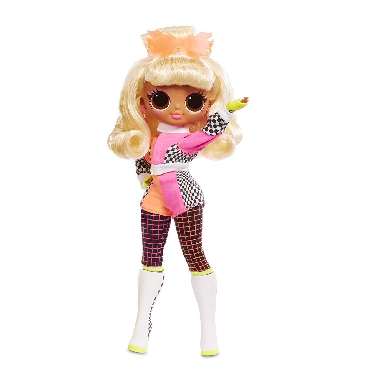 Кукла ЛОЛ ОМГ леди Гонщик Спидстер L.O.L. Surprise! O.M.G. Lights Speedster Fashion Doll LOL OMG оригинал omg
