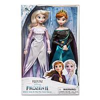 Куклы королевы Дисней Анна и Эльза набор 2019 Фрозен Anna and Elsa Doll Set Frozen 2 крижане серце оригинал