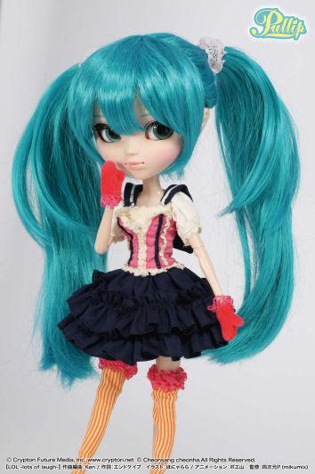 Лялька Пуллип Вокалоід Хацуне Міку ЛОЛ Pullip Vocaloid Hatsune Miku LOL 2011 оригінал