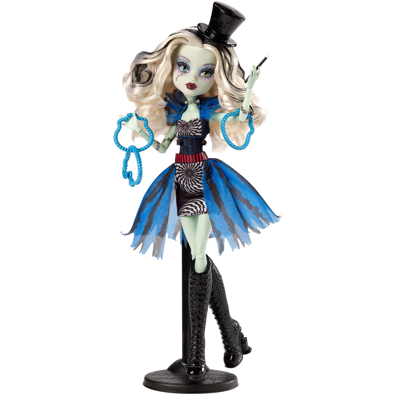 Кукла Монстер Хай Френки штейн Цирковое представление Monster High Freak du Chic Frankie Stein фрик ду чик шик