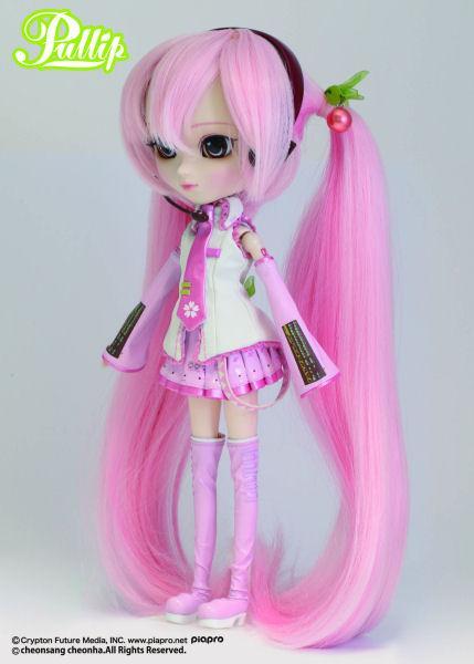 Лялька Пуллип Вокалоід Хацуне Міку Сакура рожева Pullip Vocaloid Sakura Miku оригінал