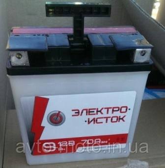 Аккумулятор АКБ 12V 9Аh МОТО МТ ИЖ Элетро-Исток
