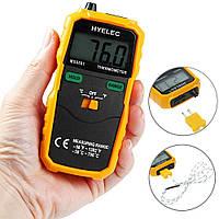 Цифровой термометр HYELEC MS6501 с термопарой К-типа (от -50°C до +750°C) и датчиком температуры воздуха, фото 1