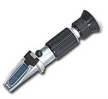 Рефрактометр RHB 0 - 50 ATC(HT1150) (0-50% Brix) . Для визначення вмісту сахарози у вині, соках, сиропах