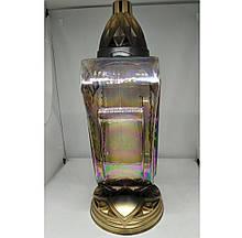Лампадка стеклянная 75 ч. (28 см.) 6шт / ящ (МТ1)