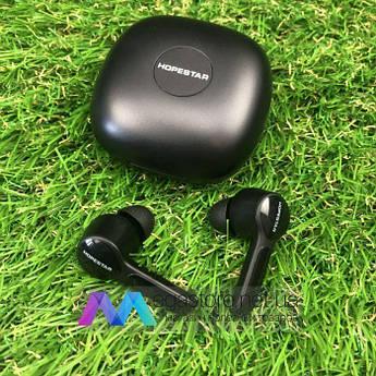 Бездротові bluetooth-навушники Hopestar S11 з мікрофоном для пк телефону wireless вкладиші блютуз чорні