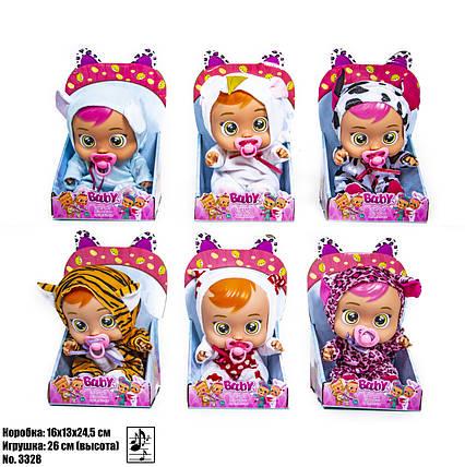 Кукла Cry Babies 3328-A, фото 2
