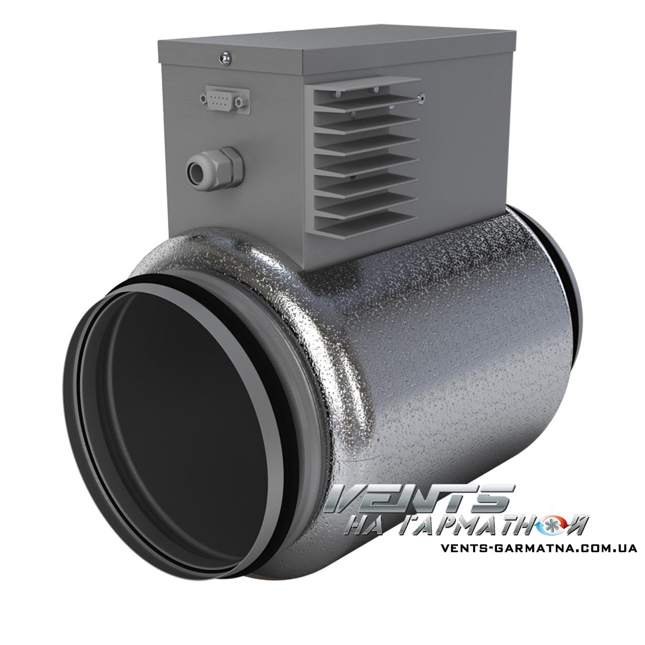 Вентс НКП 150-1,2-1. Нагреватель для защиты рекуператора от обмерзания