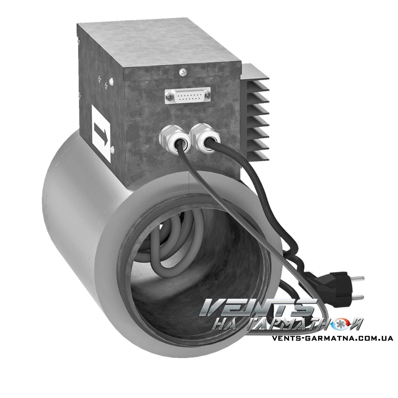 Вентс НКД 160-0,8-1 А21. Канальный догреватель приточного воздуха