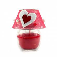 """Свічка в свічнику """"Вогник любові"""""""