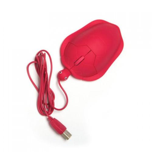 "Компьютерная мышь ""Черепаха"", красная"