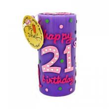 """Свічки """"21-й День народження"""""""